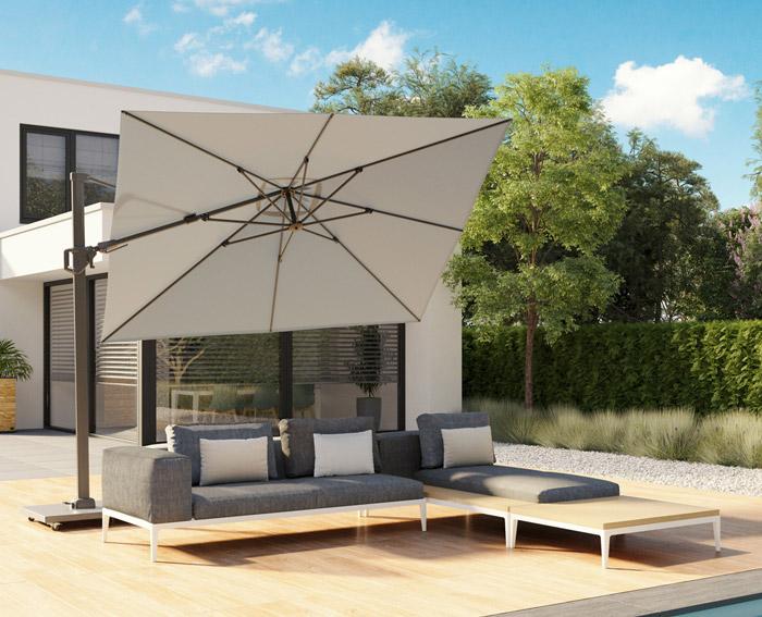 Luxe parasol - Tuindorado